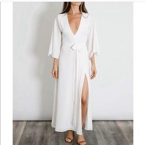 Donna Mizani White maxi bridal dress